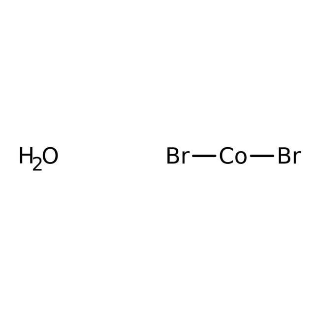Cobalt(II) bromide hydrate, ACROS Organics™ 500g; Plastic bottle Cobalt(II) bromide hydrate, ACROS Organics™