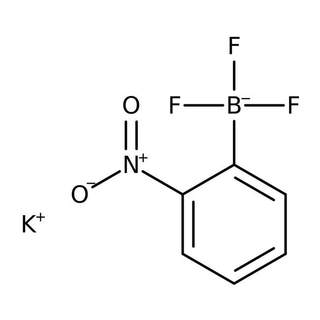 Potassium (2-nitrophenyl)trifluoroborate, 97%, ACROS Organics™
