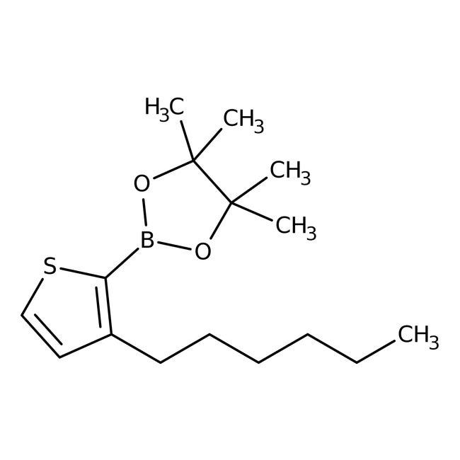 3-Hexyl-2-(4,4,5,5-tetramethyl-1,3,2-dioxaborolan-2-yl)thiophene 97.0+%, TCI America™