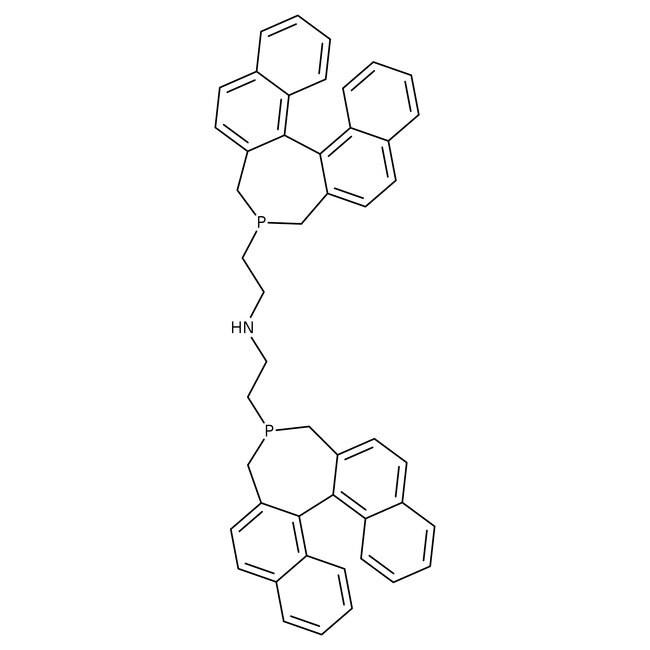 Bis(2-[(11bR)-3H-binaphtho[2,1-c:1',2'-e]phosphepin-4(5H)-yl]ethyl)amine, ≥97%, Alfa Aesar™: Organoheterocyclic compounds Organic Compounds