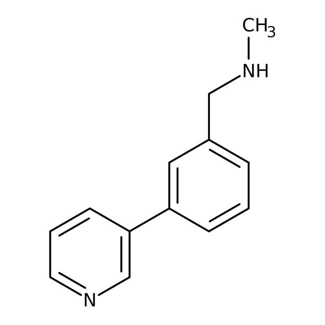 N-Methyl-N-(3-pyridin-3-ylbenzyl)amine, 97%, Maybridge 5g N-Methyl-N-(3-pyridin-3-ylbenzyl)amine, 97%, Maybridge