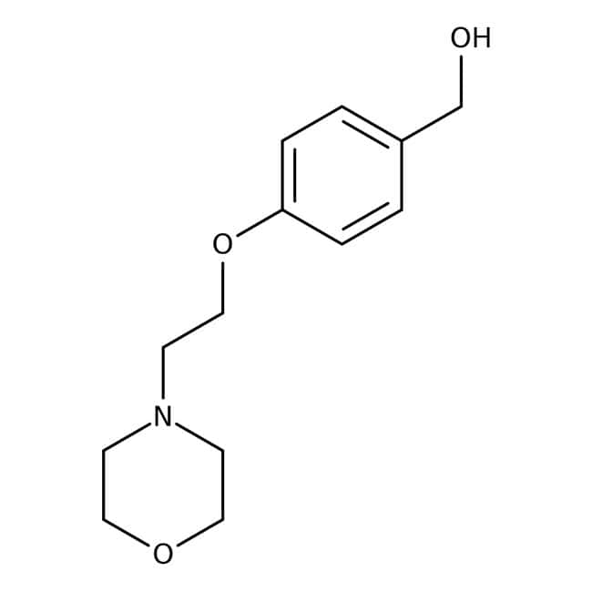 [4-(2-Morpholin-4-ylethoxy)phenyl]methanol, 97 %, Maybridge Braunglasflasche, 1 g [4-(2-Morpholin-4-ylethoxy)phenyl]methanol, 97 %, Maybridge