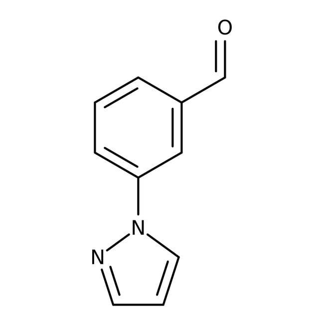 3-(1H-Pyrazol-1-yl)benzaldehyde, ≥97%, Maybridge™ 5g 3-(1H-Pyrazol-1-yl)benzaldehyde, ≥97%, Maybridge™