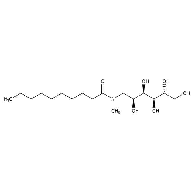 Alfa Aesar™N-Décanoyl-N-méthyl-D-glucamine 1g Alfa Aesar™N-Décanoyl-N-méthyl-D-glucamine