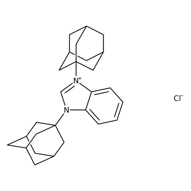 1,3-Bis(1-adamantyl)benzimidazolium chloride, 95%, ACROS Organics™