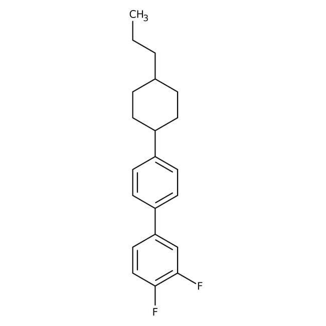 Alfa Aesar™trans-3,4-Difluoro-4'-(4-n-propylcyclohexyl)biphenyl, 97%