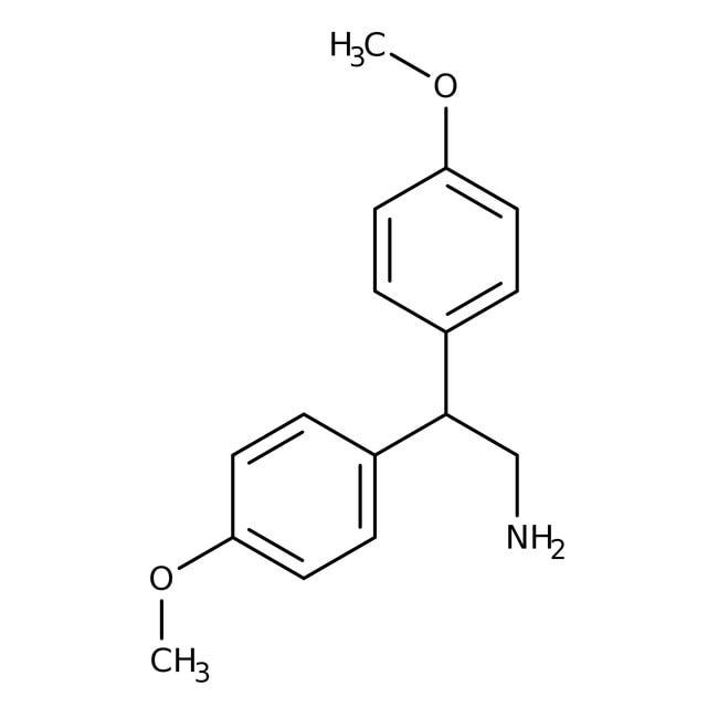 Alfa Aesar™2,2-bis(4-Metoxifenil)etilamina, 98 % 5g Alfa Aesar™2,2-bis(4-Metoxifenil)etilamina, 98 %