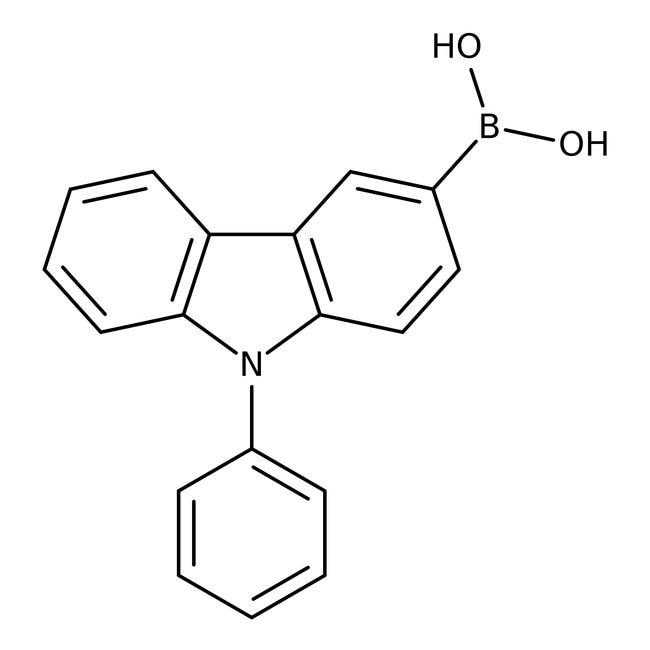 Alfa Aesar™9-Phenylcarbazole-3-boronic acid, 98%