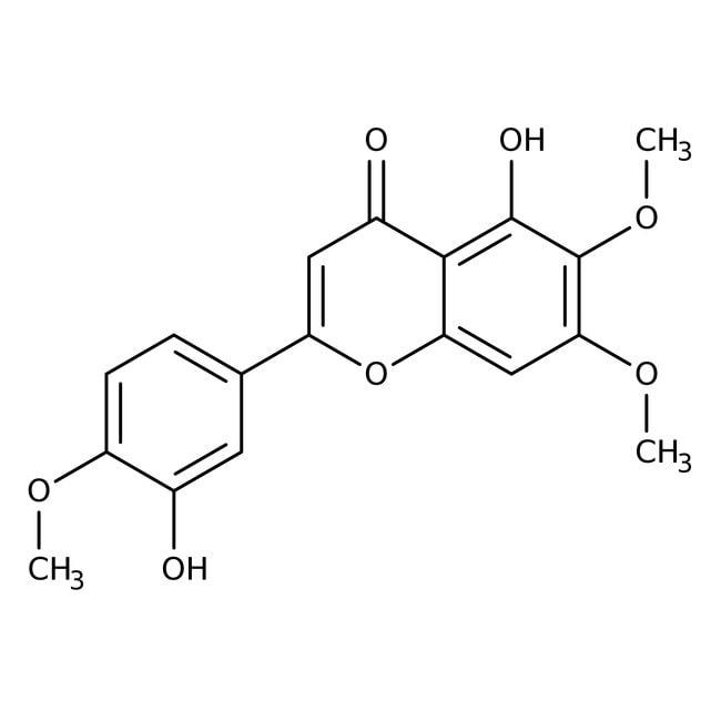 Alfa Aesar™3',5-Dihydroxy-4',6,7-triméthoxyflavone, 97% 25mg Alfa Aesar™3',5-Dihydroxy-4',6,7-triméthoxyflavone, 97%