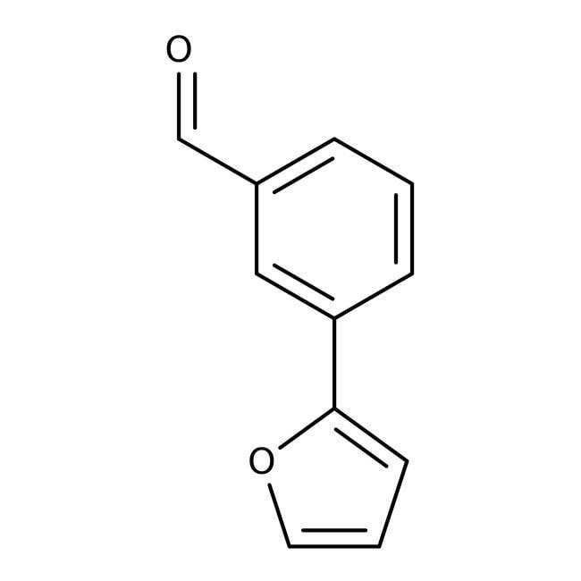 3-(2-Furyl)benzaldehyde, ≥97%, Maybridge™ 10g 3-(2-Furyl)benzaldehyde, ≥97%, Maybridge™