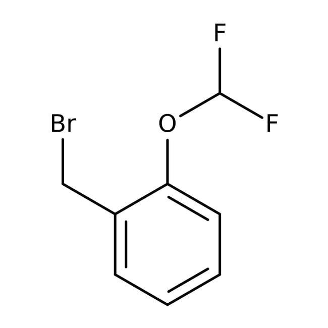 Alfa Aesar™2-(Difluoromethoxy)benzyl bromide, 97% 50g Alfa Aesar™2-(Difluoromethoxy)benzyl bromide, 97%