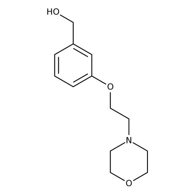 [3-(2-Morpholinoethoxy)phenyl]methanol 97 %, Maybridge Braunglasflasche, 1 g [3-(2-Morpholinoethoxy)phenyl]methanol 97 %, Maybridge