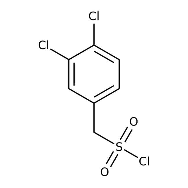 (3,4-Dichlorophenyl)methanesulfonyl chloride, 90%, Maybridge™ Amber Glass Bottle; 250mg (3,4-Dichlorophenyl)methanesulfonyl chloride, 90%, Maybridge™