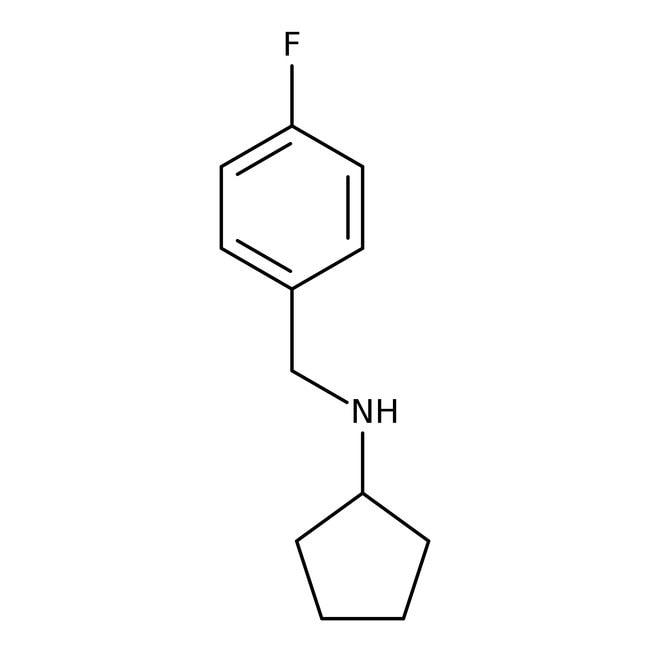 Alfa Aesar™N-(4 -Fluorobenzyl)Cyclopentylamin, 97% 250mg Alfa Aesar™N-(4 -Fluorobenzyl)Cyclopentylamin, 97%