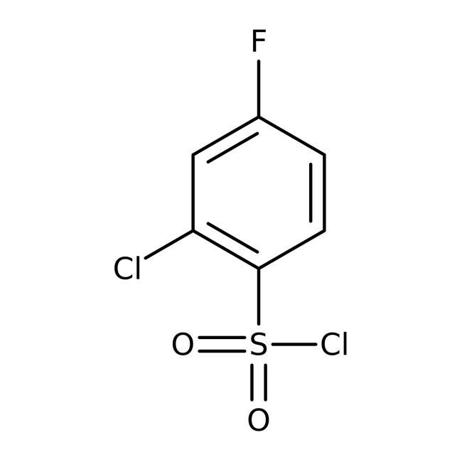 2-Chlor-4-Fluorbenzol-1-Sulfonylchlorid, 97%, Maybridge 25g 2-Chlor-4-Fluorbenzol-1-Sulfonylchlorid, 97%, Maybridge