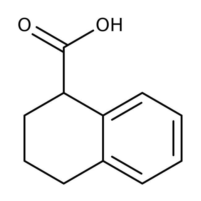 Alfa Aesar™(S)-1,2,3,4-Tetrahydro-1-naphthoic acid, 98% 250mg Alfa Aesar™(S)-1,2,3,4-Tetrahydro-1-naphthoic acid, 98%