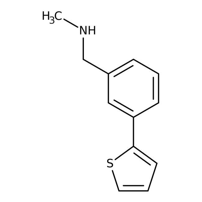 N-Methyl-N-(3-thien-2-ylbenzyl)amine, 97%, Maybridge Amber Glass Bottle; 1g N-Methyl-N-(3-thien-2-ylbenzyl)amine, 97%, Maybridge