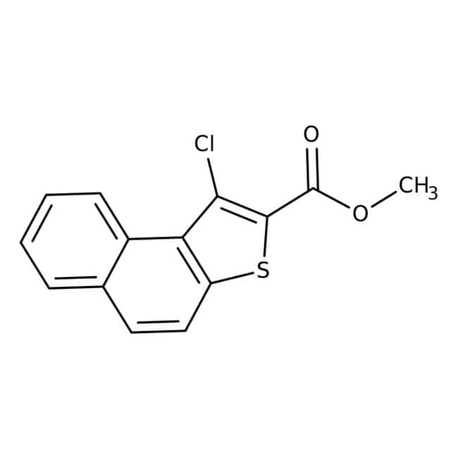 Methyl 1-chloronaphtho[2,1-b]thiophen-2-carboxylat, 96%, Alfa Aesar™ 1g Methyl 1-chloronaphtho[2,1-b]thiophen-2-carboxylat, 96%, Alfa Aesar™