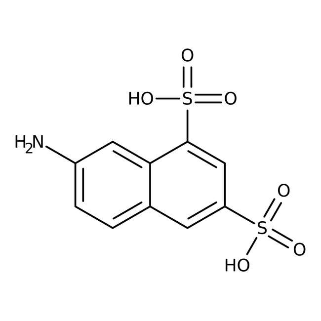 7-Amino-1,3-naphthalenedisulfonic acid, Tech., ACROS Organics™