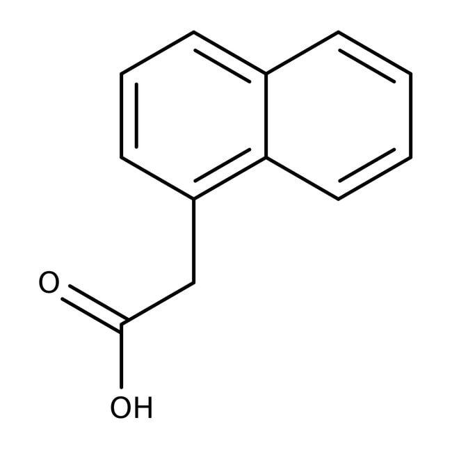 1-Naphthylacetic acid, 95%, ACROS Organics™ 500g; Glass bottle 1-Naphthylacetic acid, 95%, ACROS Organics™