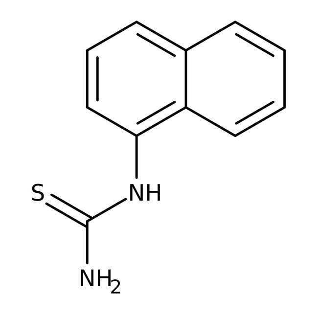 Alfa Aesar™N-(1-Naphthyl)thiourea, 97% 10g Alfa Aesar™N-(1-Naphthyl)thiourea, 97%