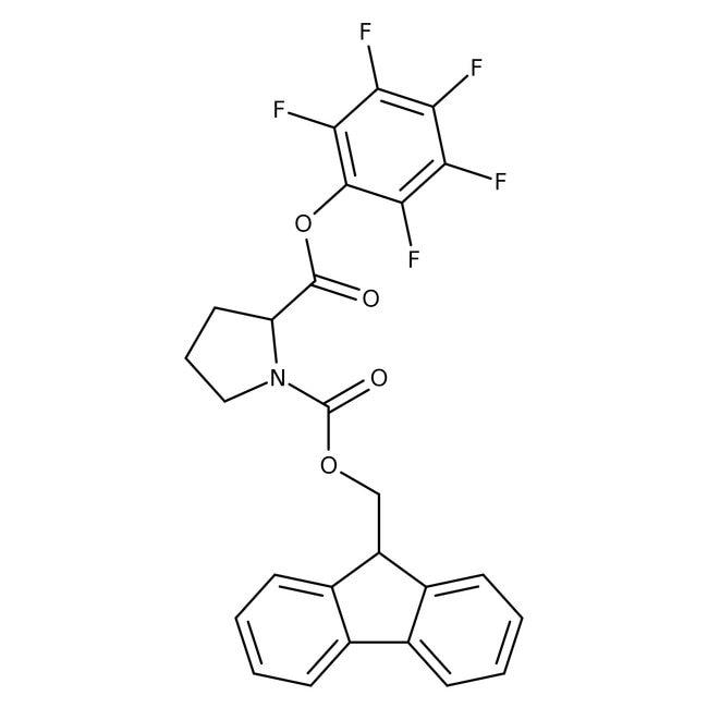 Alfa Aesar™N-Fmoc-L-proline pentafluorophenyl ester, 98% 5g Alfa Aesar™N-Fmoc-L-proline pentafluorophenyl ester, 98%