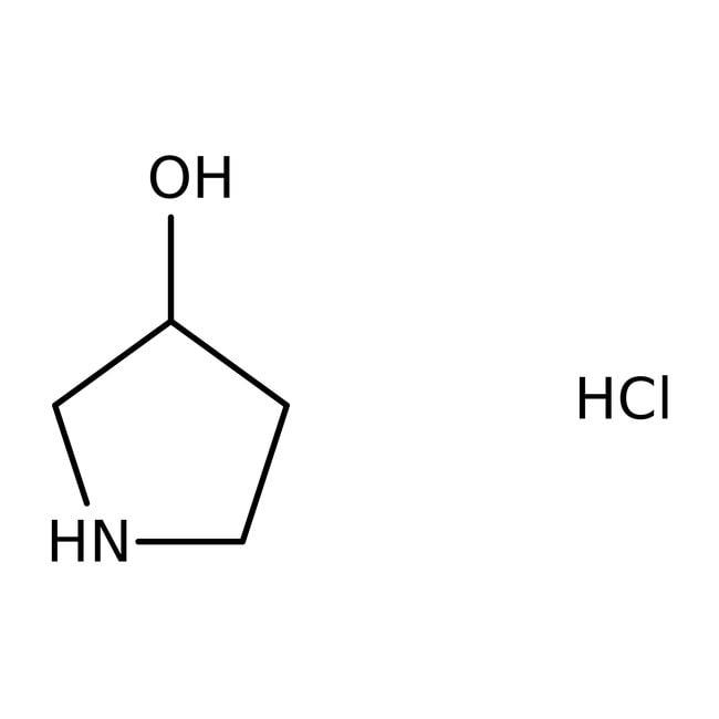 Alfa Aesar™(±)-3-Hydroxypyrrolidine hydrochloride, 98% 5g Alfa Aesar™(±)-3-Hydroxypyrrolidine hydrochloride, 98%