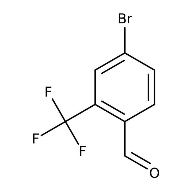 Alfa Aesar™4-Bromo-2-(trifluoromethyl)benzaldehyde, 95% 250mg Alfa Aesar™4-Bromo-2-(trifluoromethyl)benzaldehyde, 95%