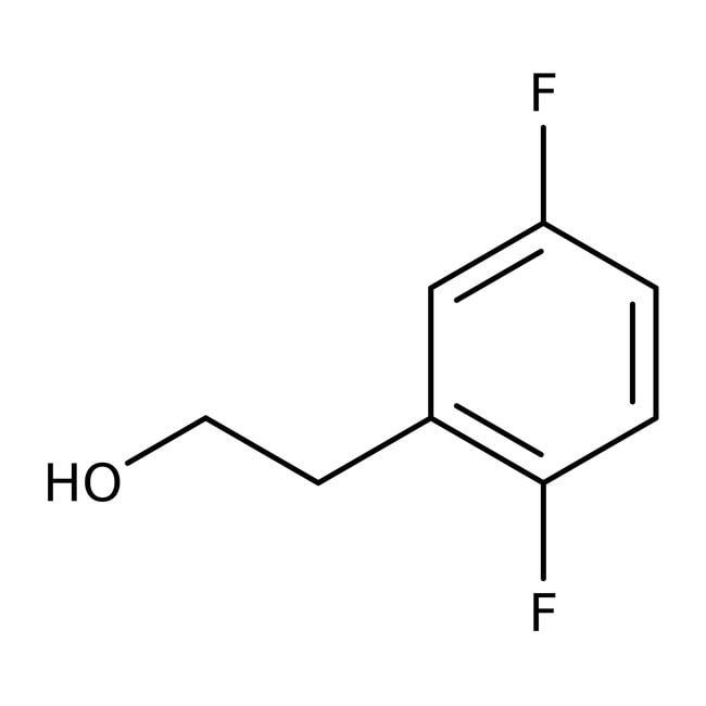 Alfa Aesar™2-(2,5-Difluorphenyl)ethanol, 97% 1g Alfa Aesar™2-(2,5-Difluorphenyl)ethanol, 97%