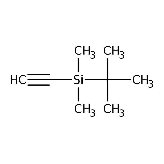 (tert-Butyldimethylsilyl)acetylene, 97%, Acros Organics