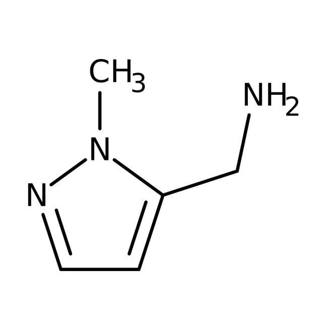 (1-Methyl-1H-pyrazol-5-yl)methylamine, 97%, Acros Organics