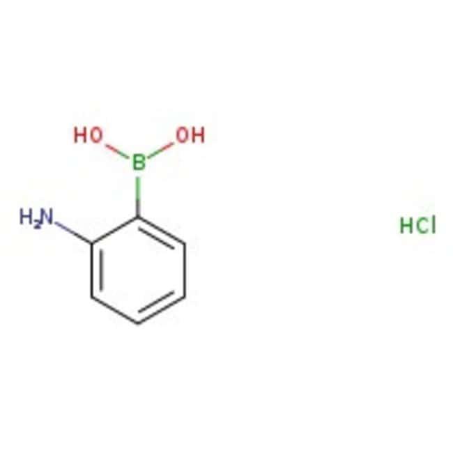 2-Aminophenylboronic acid hydrochloride, 97%, ACROS Organics
