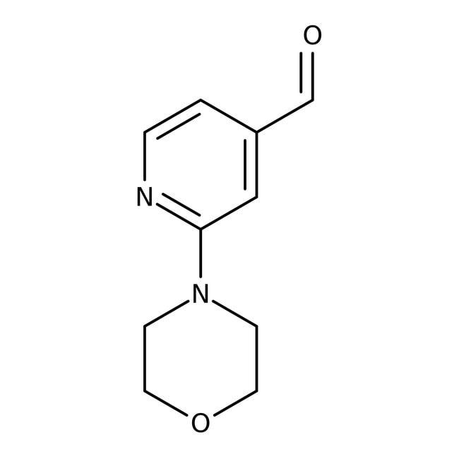 2-Morpholinoisonicotinaldehyde, 97%, Maybridge™ Amber Glass Bottle; 1g 2-Morpholinoisonicotinaldehyde, 97%, Maybridge™