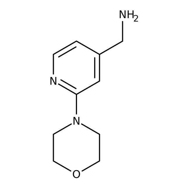 (2-Morpholinopyrid-4-yl)methylamine, 97%, Maybridge™ Amber Glass Bottle; 1g (2-Morpholinopyrid-4-yl)methylamine, 97%, Maybridge™