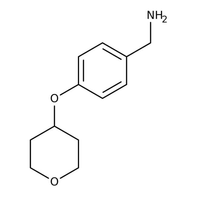 [4-(Tetrahydropyran-4-yloxy)phenyl]methylamine, 97%, Maybridge™
