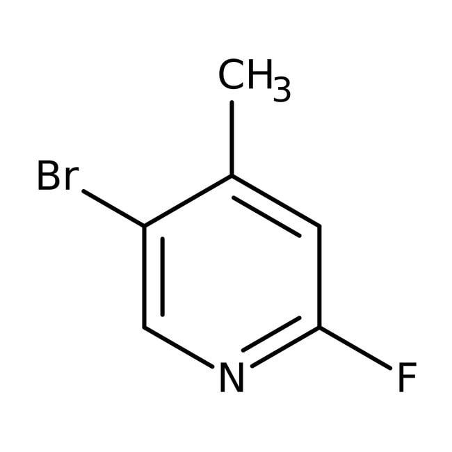 Alfa Aesar™5-Bromo-2-fluoro-4-methylpyridine, 96%