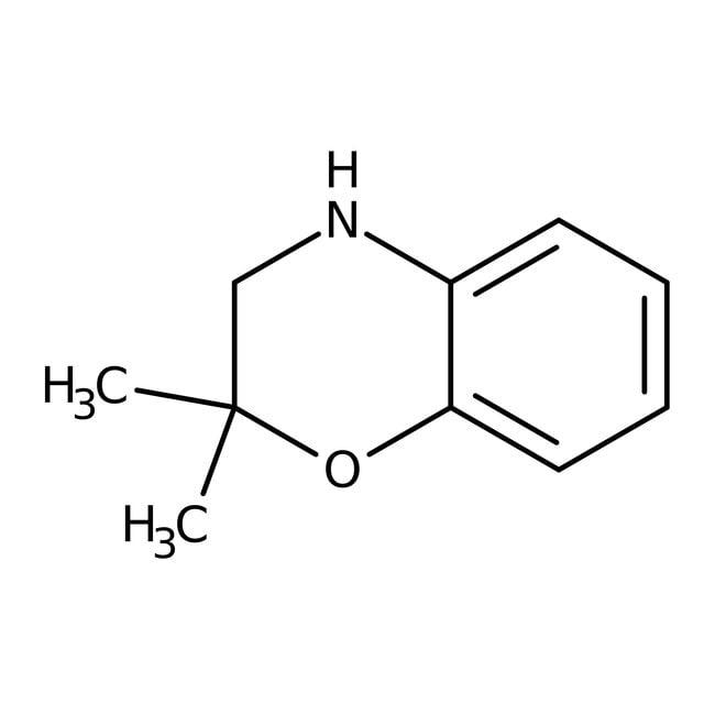 Alfa Aesar™2,2-Dimethyl-3,4-dihydro-2H-1,4-benzoxazine, 97%: Morpholines Oxazinanes