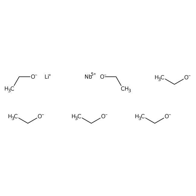 Alfa Aesar  Lithium niobium ethoxide, 99+% (metals basis), 5% w/v in ethanol