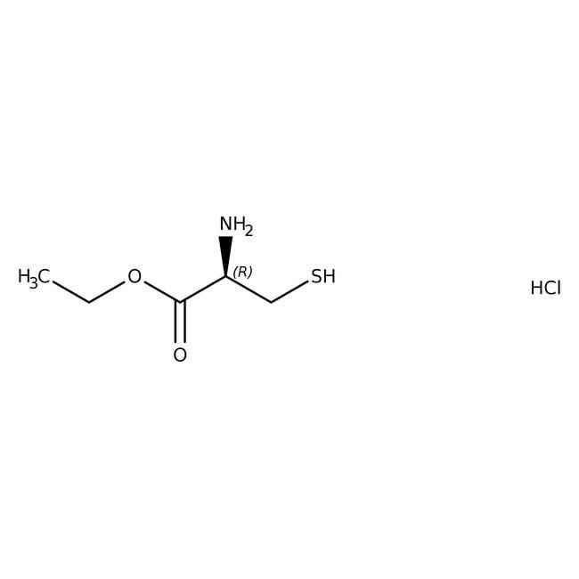 L-Cysteine Ethyl Ester Hydrochloride 98%, ACROS Organics™ 100g; Plastic bottle L-Cysteine Ethyl Ester Hydrochloride 98%, ACROS Organics™