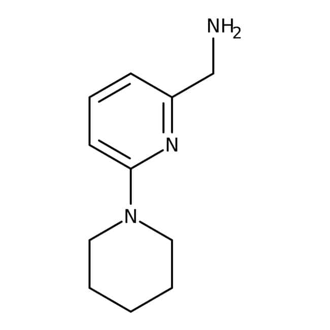 (6-Piperidinopyrid-2-yl)methylamine, 97%, Maybridge