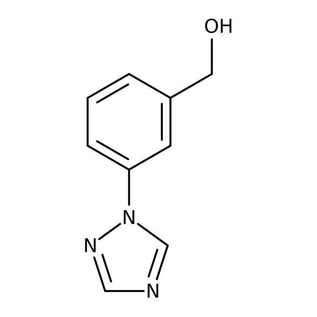 [3-(1H-1,2,4-Triazol-1-yl)phenyl]methanol, ≥95%, Maybridge™ Amber Glass Bottle; 250mg [3-(1H-1,2,4-Triazol-1-yl)phenyl]methanol, ≥95%, Maybridge™