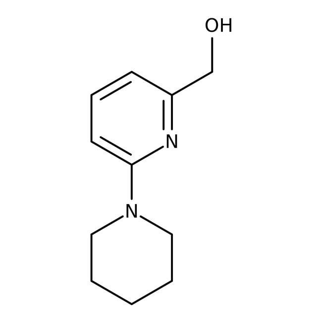 (6-Piperidinopyrid-2-yl)methanol, 97%, Maybridge™ Amber Glass Bottle; 250mg (6-Piperidinopyrid-2-yl)methanol, 97%, Maybridge™