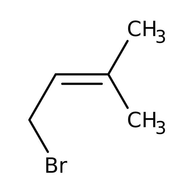 1-Bromo-3-methyl-2-butene, 96%, ACROS Organics™ 50g 1-Bromo-3-methyl-2-butene, 96%, ACROS Organics™