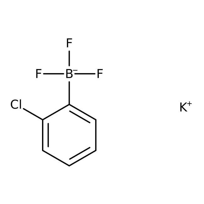 Alfa Aesar™Kalium-2-chlorphenyltrifluorborat, 95% 1g Alfa Aesar™Kalium-2-chlorphenyltrifluorborat, 95%