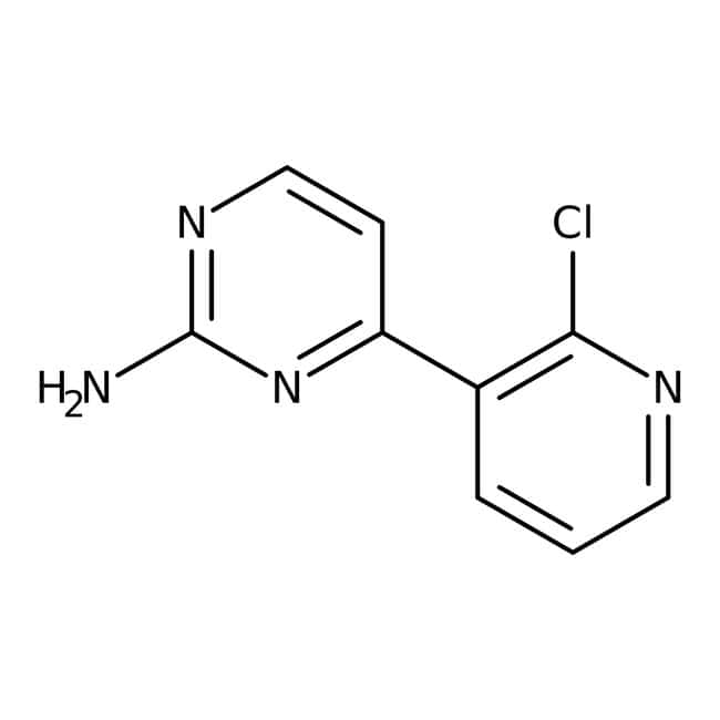 Alfa Aesar™2-Amino-4-(2-chloro-3-pyridyl)pyrimidine, 97% 1g Alfa Aesar™2-Amino-4-(2-chloro-3-pyridyl)pyrimidine, 97%
