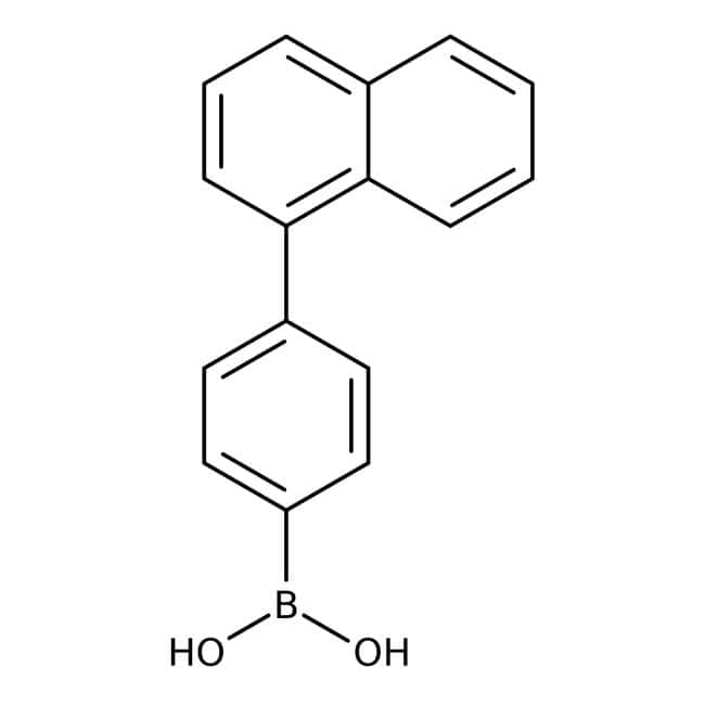 4-(1-Naphthyl)phenylboronic Acid (contains varying amounts of Anhydride), TCI America
