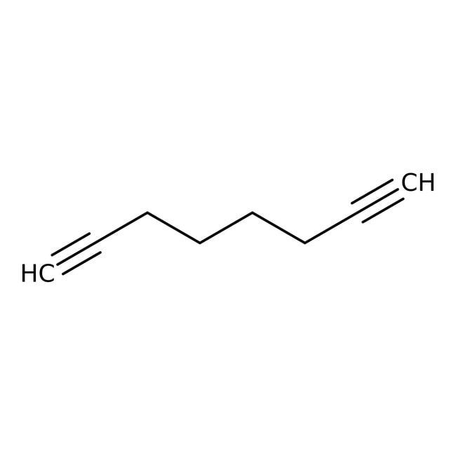 1,7-octadiyne, 98%, Acros Organics™ Flacon en verre; 50g 1,7-octadiyne, 98%, Acros Organics™
