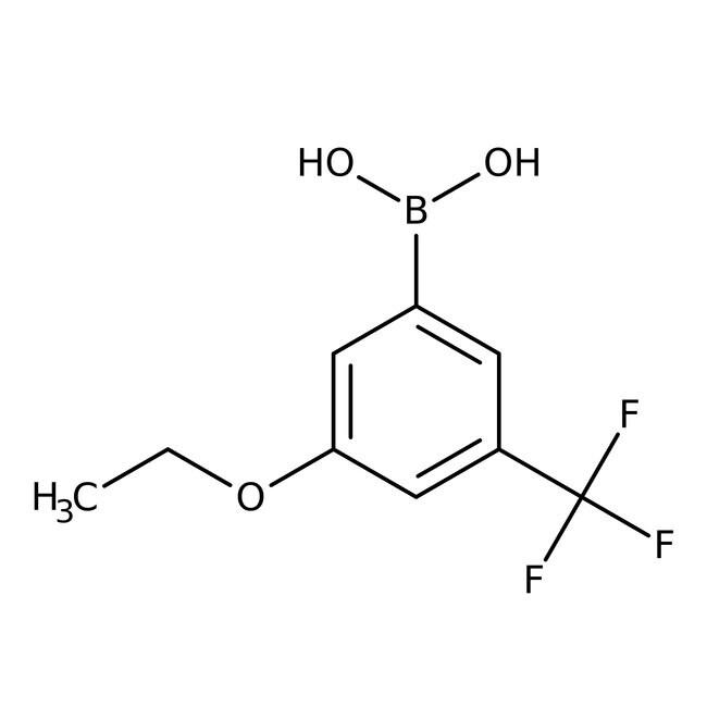 Alfa Aesar™3-Ethoxy-5-(trifluoromethyl)benzeneboronic acid, 98% 1g Alfa Aesar™3-Ethoxy-5-(trifluoromethyl)benzeneboronic acid, 98%