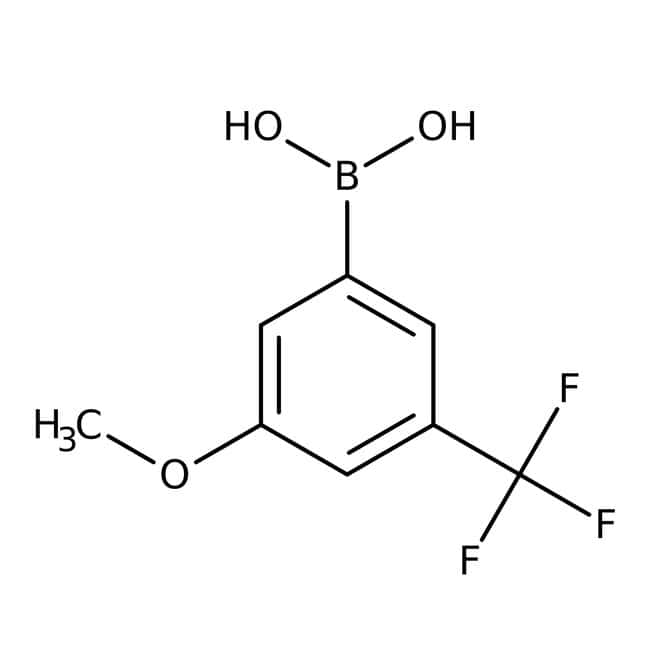 3-Methoxy-5-(trifluoromethyl)phenylboronic acid, 97%, ACROS Organics