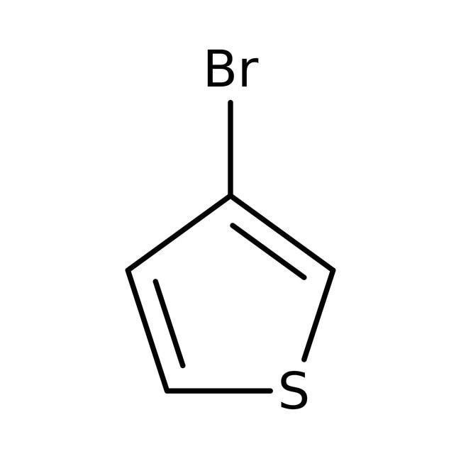 3-Bromothiophene, 97%, ACROS Organics™ 500mL; Glass bottle 3-Bromothiophene, 97%, ACROS Organics™